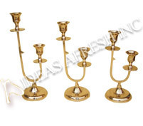 Brass Candle Stand-14371