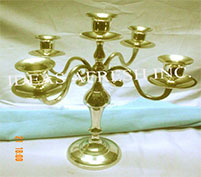 Brass Candle Stand-0712