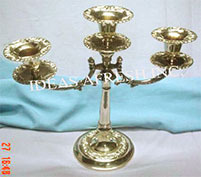 Brass Candle Stand-0837
