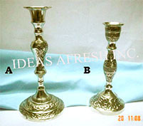Brass Candle Stand-0672